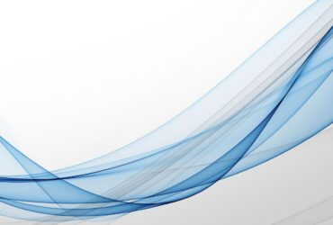stylish soft blue curve lines abstract background